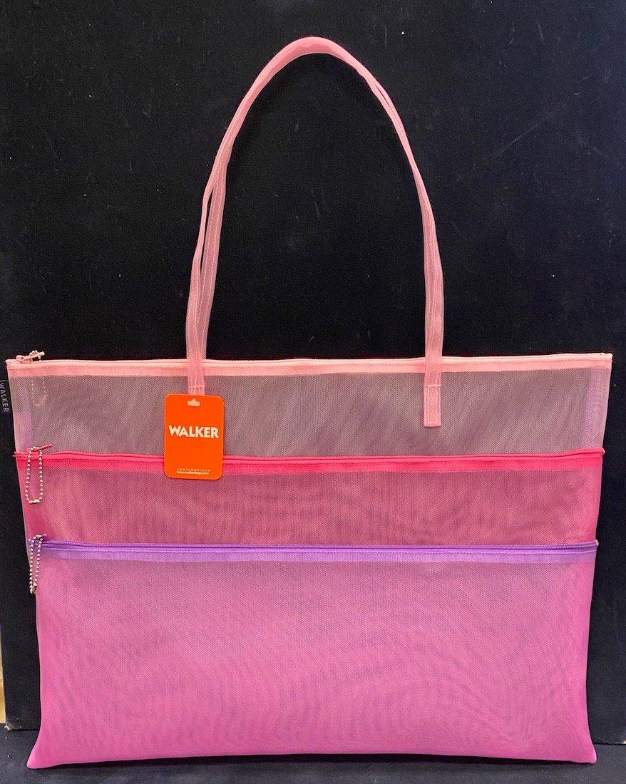 Walker Bags-Triple Zip with Handle 13 x18