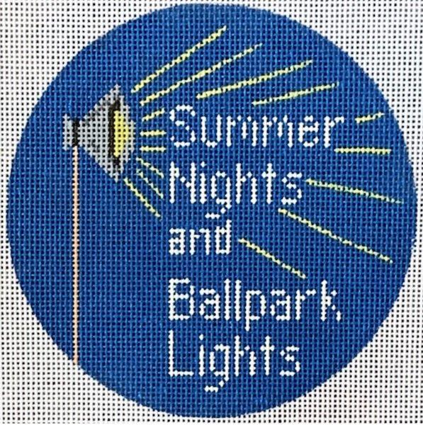 ornament, …Summer nights, baseball lights