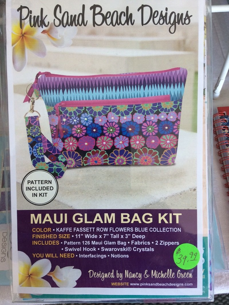 Kaffe Row Flowers Maui Glam Bag Kit