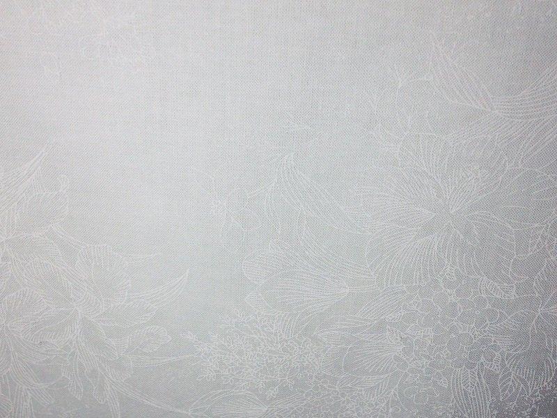 0343-001 Bare Essentials White/White Fabric