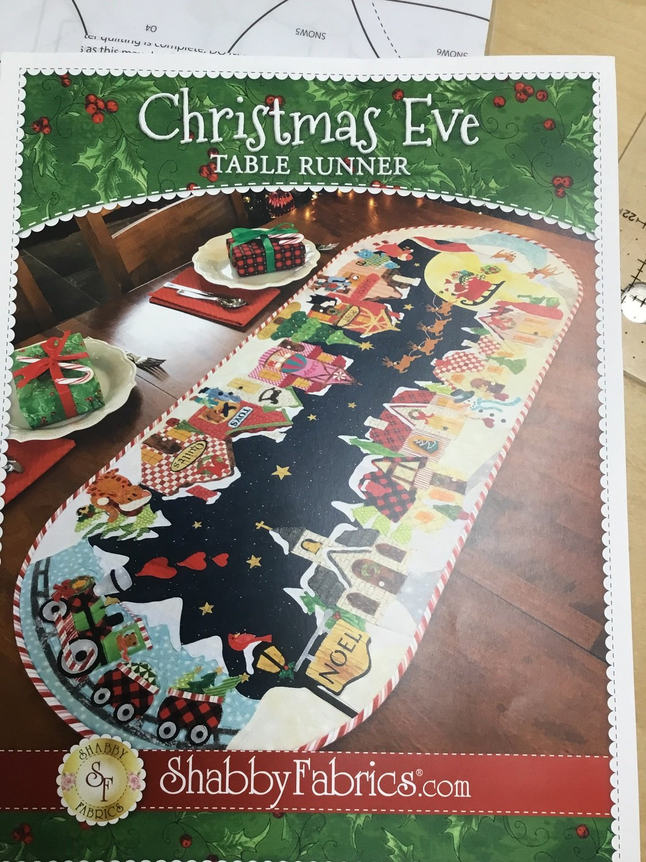 Christmas Eve table runner