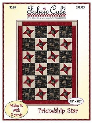 3-Yard Quilt Pattern Friendship Star