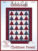 3-Yard Quilt Pattern Christmas Forest