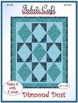 3-Yard Quilt Pattern Diamond Dust