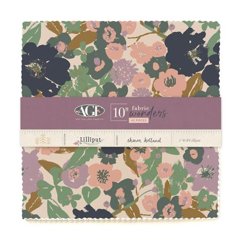 AGF Lilliput 10 in. Squares