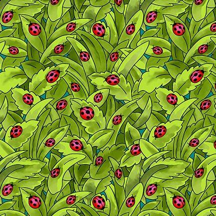 Pixie Patch Green Ladybugs