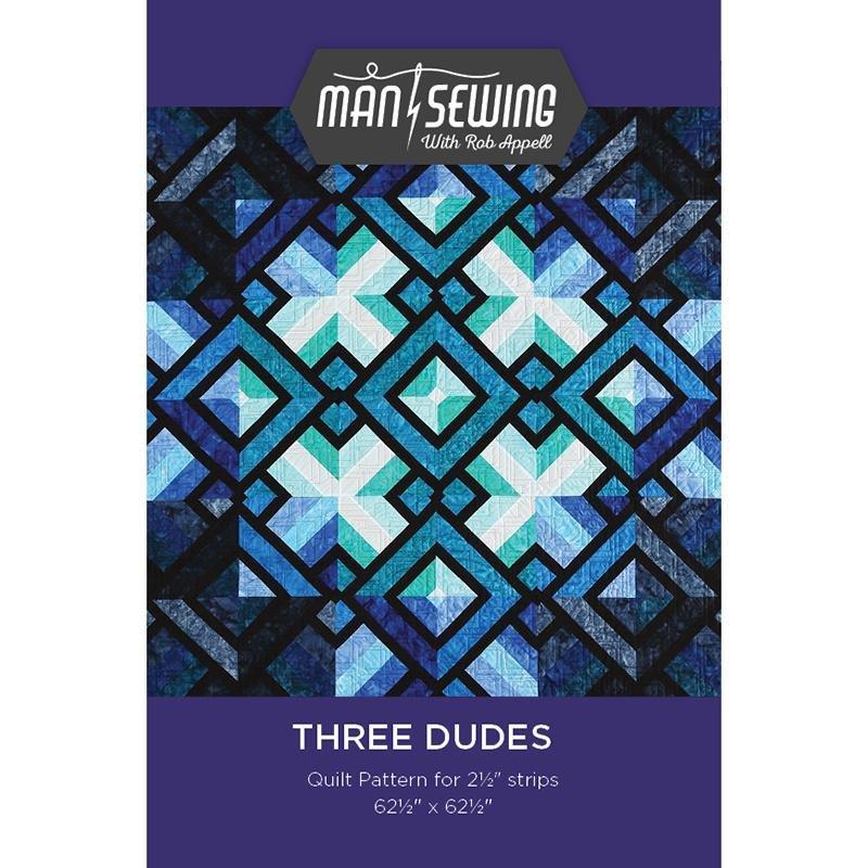 Three Dudes Quilt Pattern