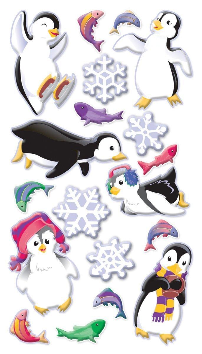 Stickopotamus Stickers - Winter Fun Penguins