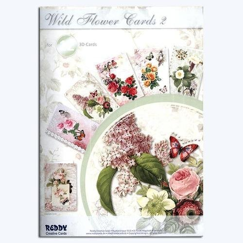 3D Cardmaking Book #2  - Wild Flower Cards (Makes 12)