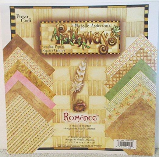 Provo Craft Pathways - Romance Papers
