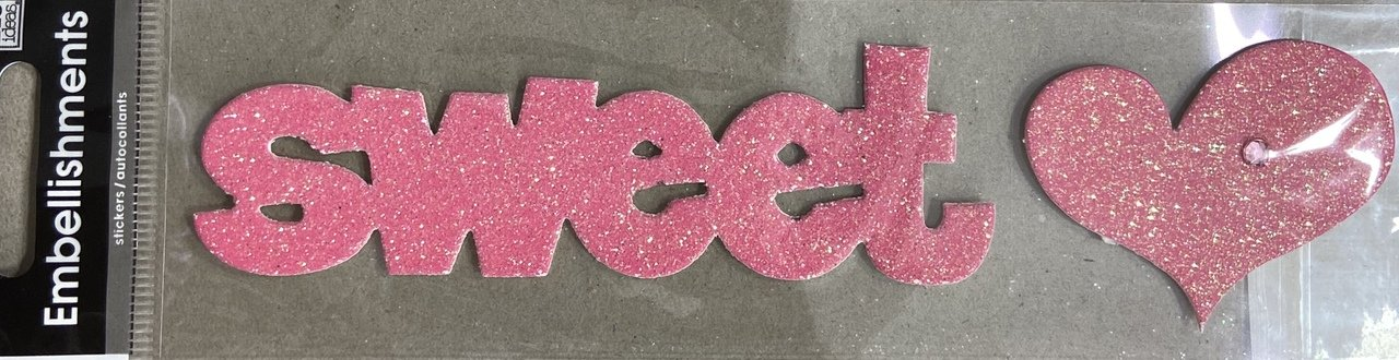 Me & My Big Ideas Embellishment Sticker - Sweetheart