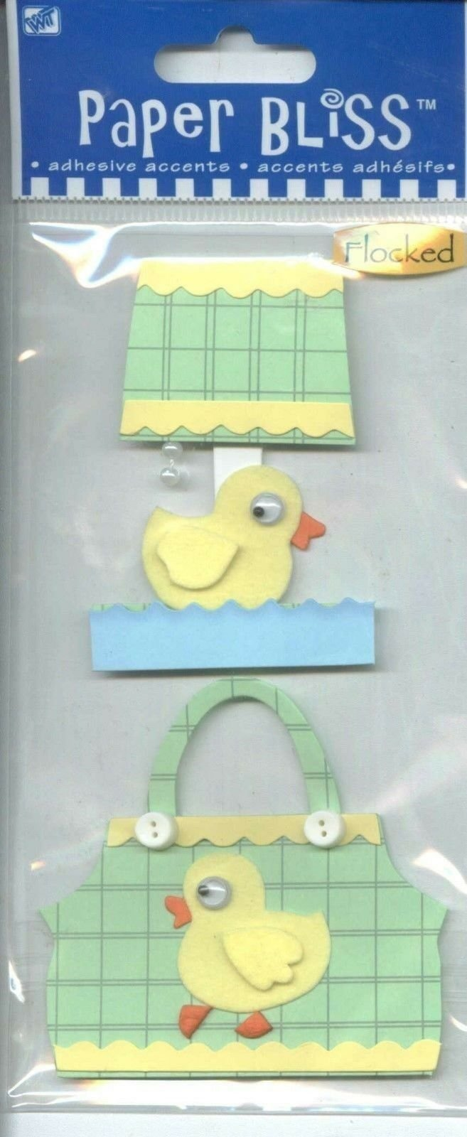 Westrim Crafts Paper Bliss - Baby Accents 2/Pkg