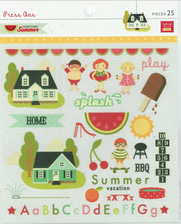PinkPaislee Press-Ons -  Hometown Summer 25 pcs.