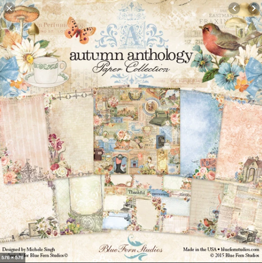 Blue Fern Studios - Autumn Anthology Collection  30/Pkg (Disc)