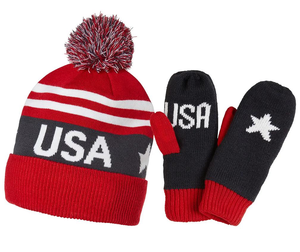 Helly Hansen Hat/MITT SET GOING FOR GOLD