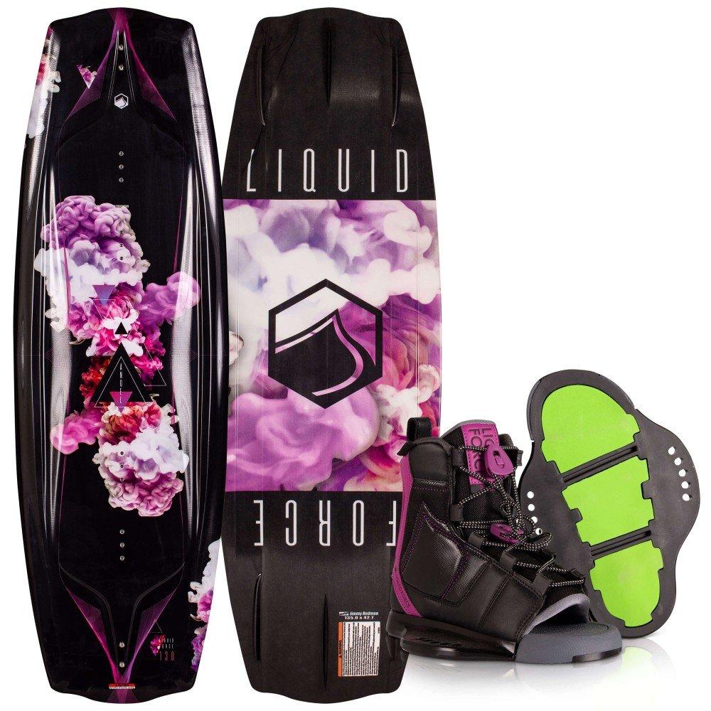 2020 Liquid Force Ladies Wakeboard Package Angel w/Plush binding