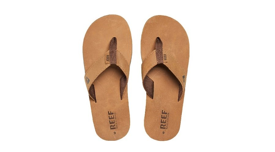 REEF Men's flip flop smoothy leather