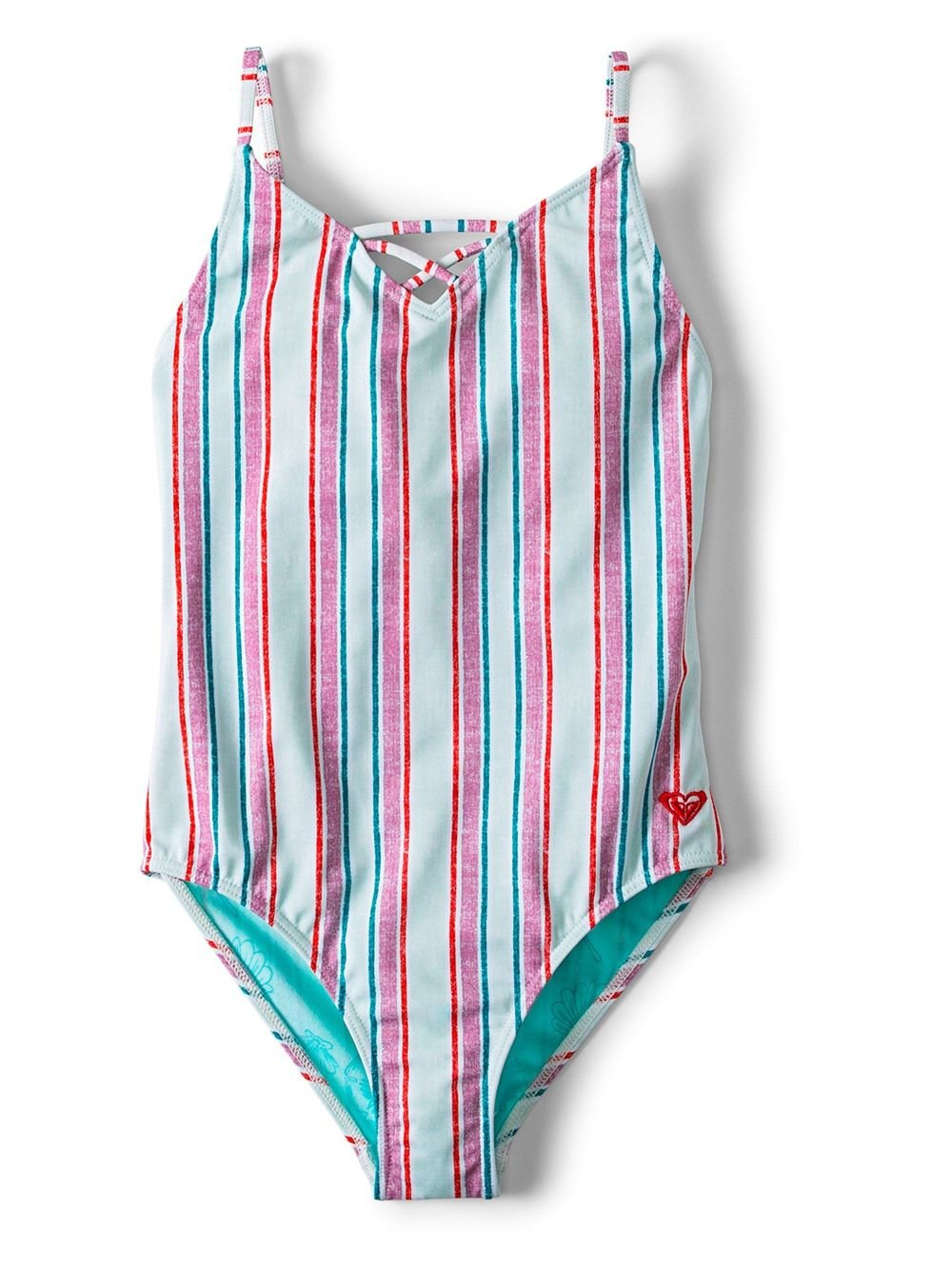 Roxy Girls One Piece Treasure Stripe