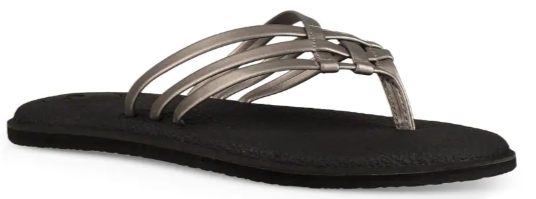 Sanuk Ladies Sandal Salty Metallic