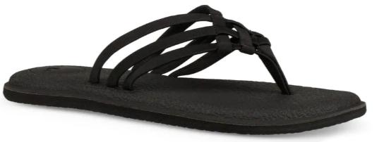 Sanuk Ladies Sandal Yoga Salty