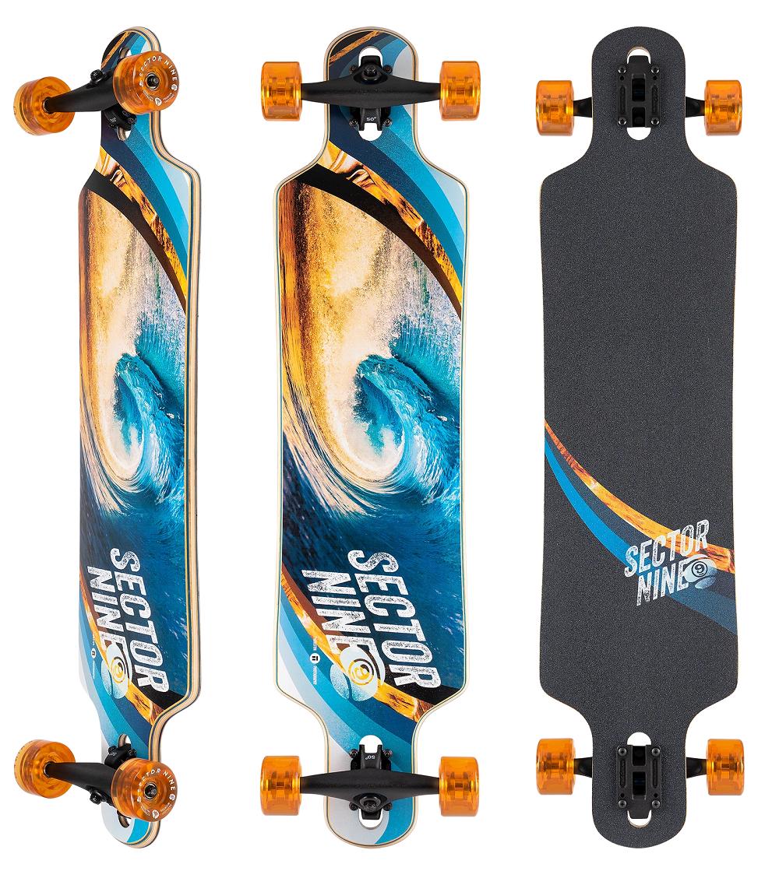 Sector 9 Meridian Swirl Longboard Complete