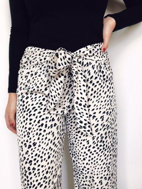 Tyche Leopard Print Pant
