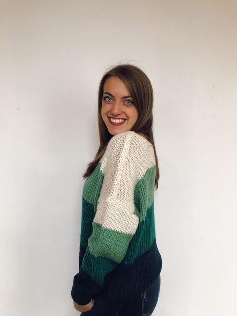 HyFve multi stripe sweater