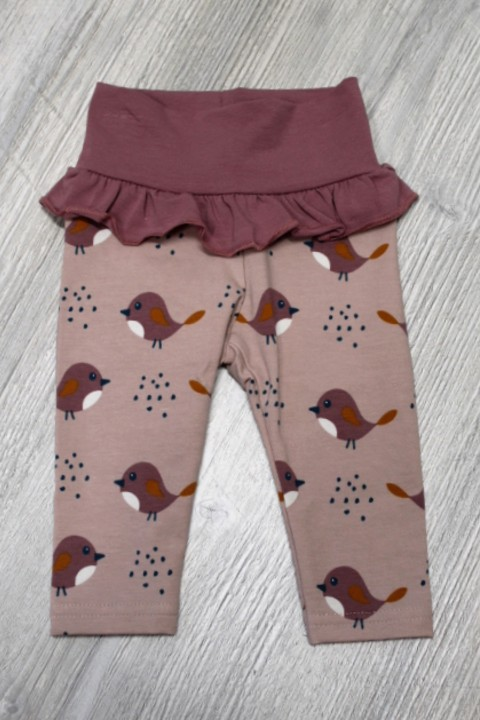 Fred's World Pink Bird Ruffle Pant