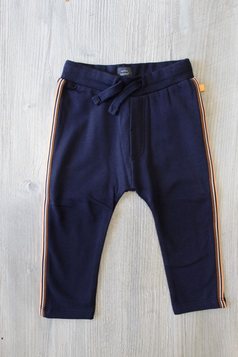 Baby Face Navy Blue Sweats