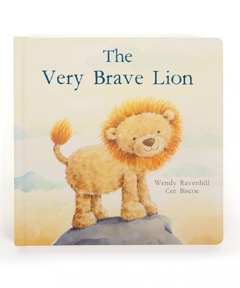 Jellycat Brave Lion Book
