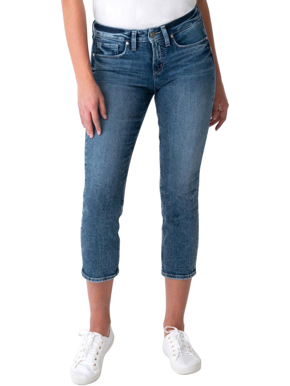 Silver Jeans SUKI Straight Crop