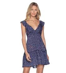 Maaji Starfish Wishes Navy Floral Dress