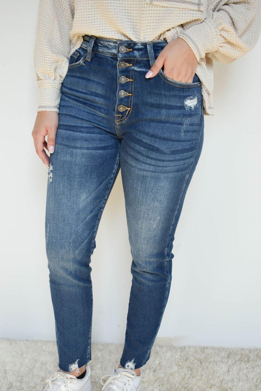 Kancan High Rise Cigarette Jean