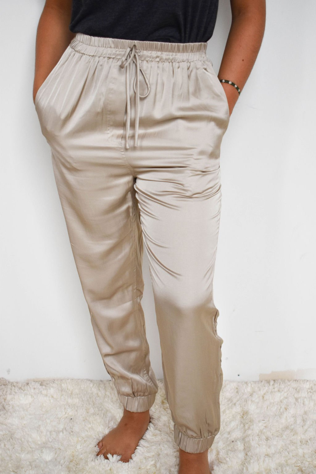 Mustard Seed Champagne Jogger