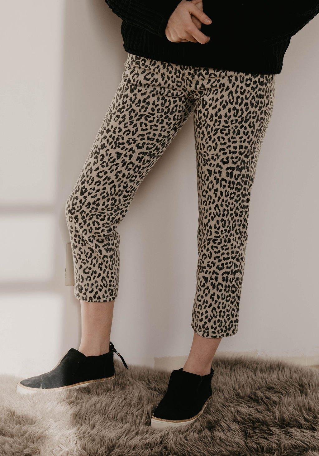 Le Lis Leopard Print Pants