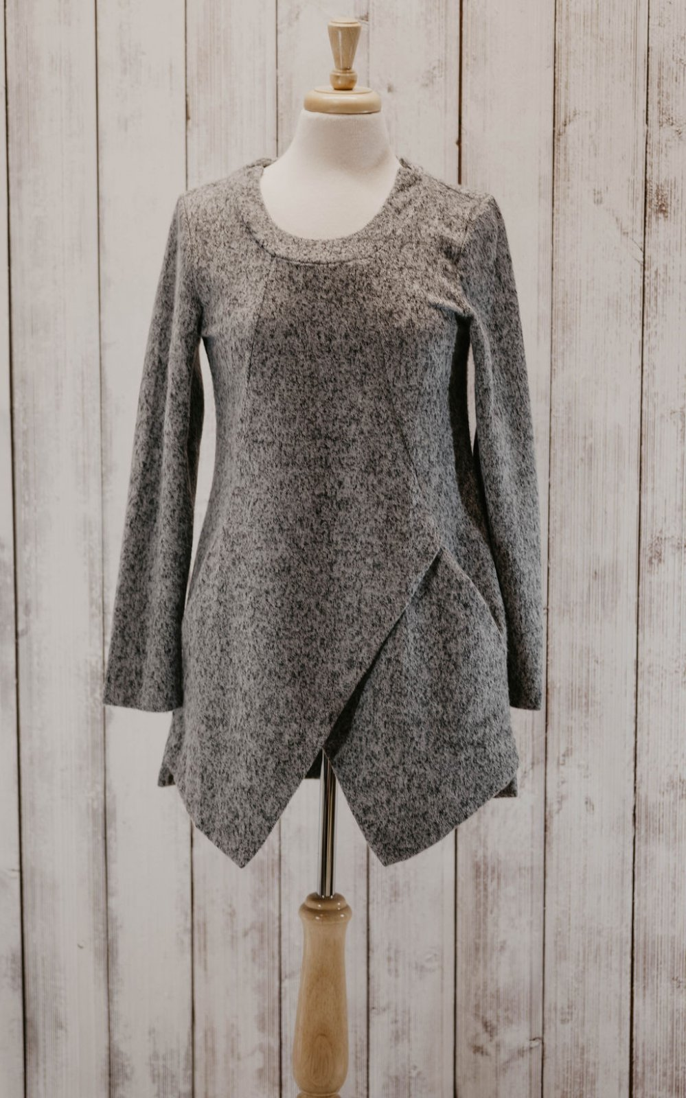 Papillon Thicker Grey Knit Dress
