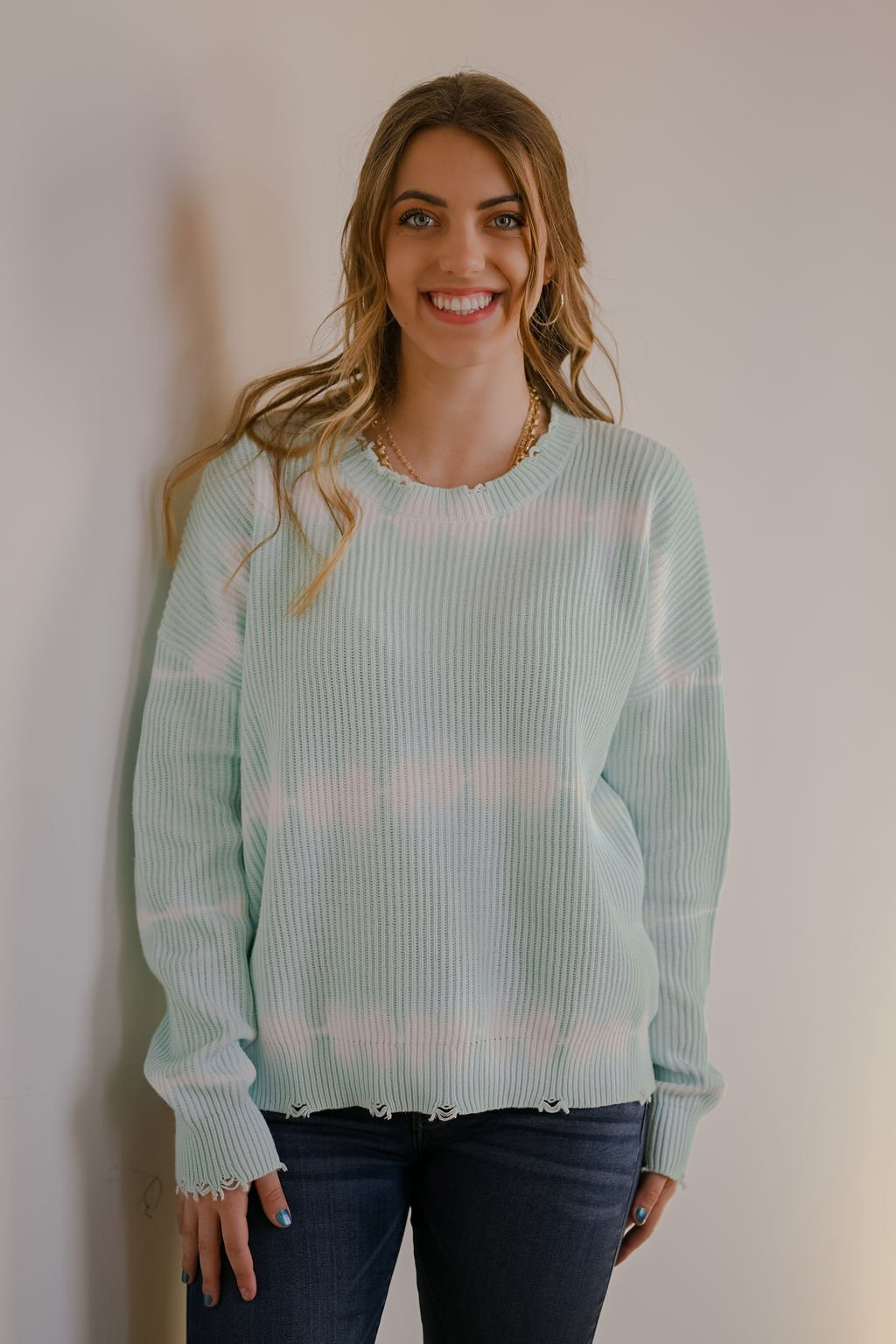 Dear John Mint Sydney Sweater