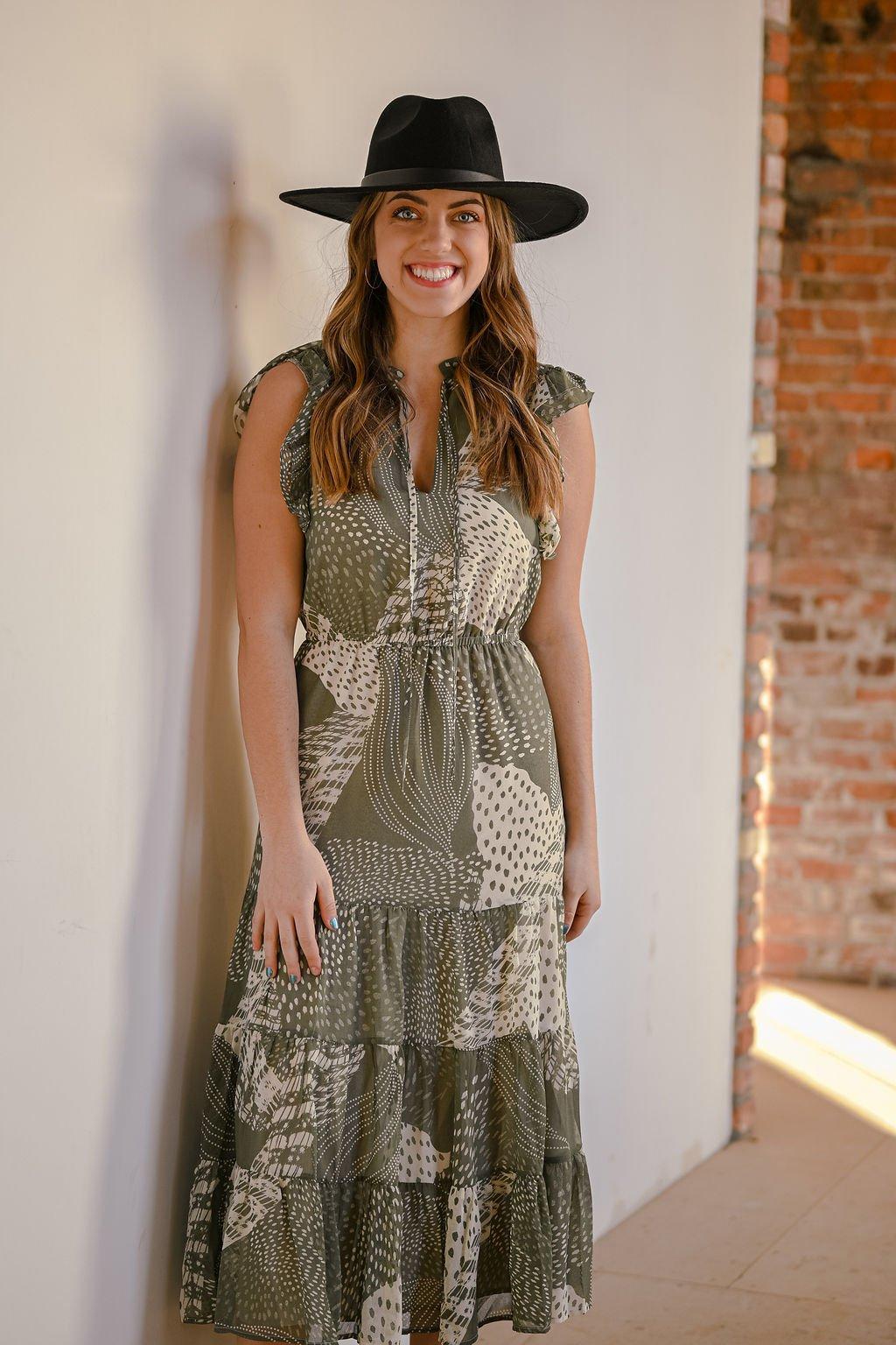 BB Dakota Mixed Bag Dress