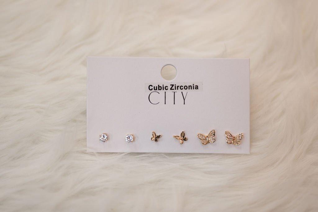 Fame Earring Set