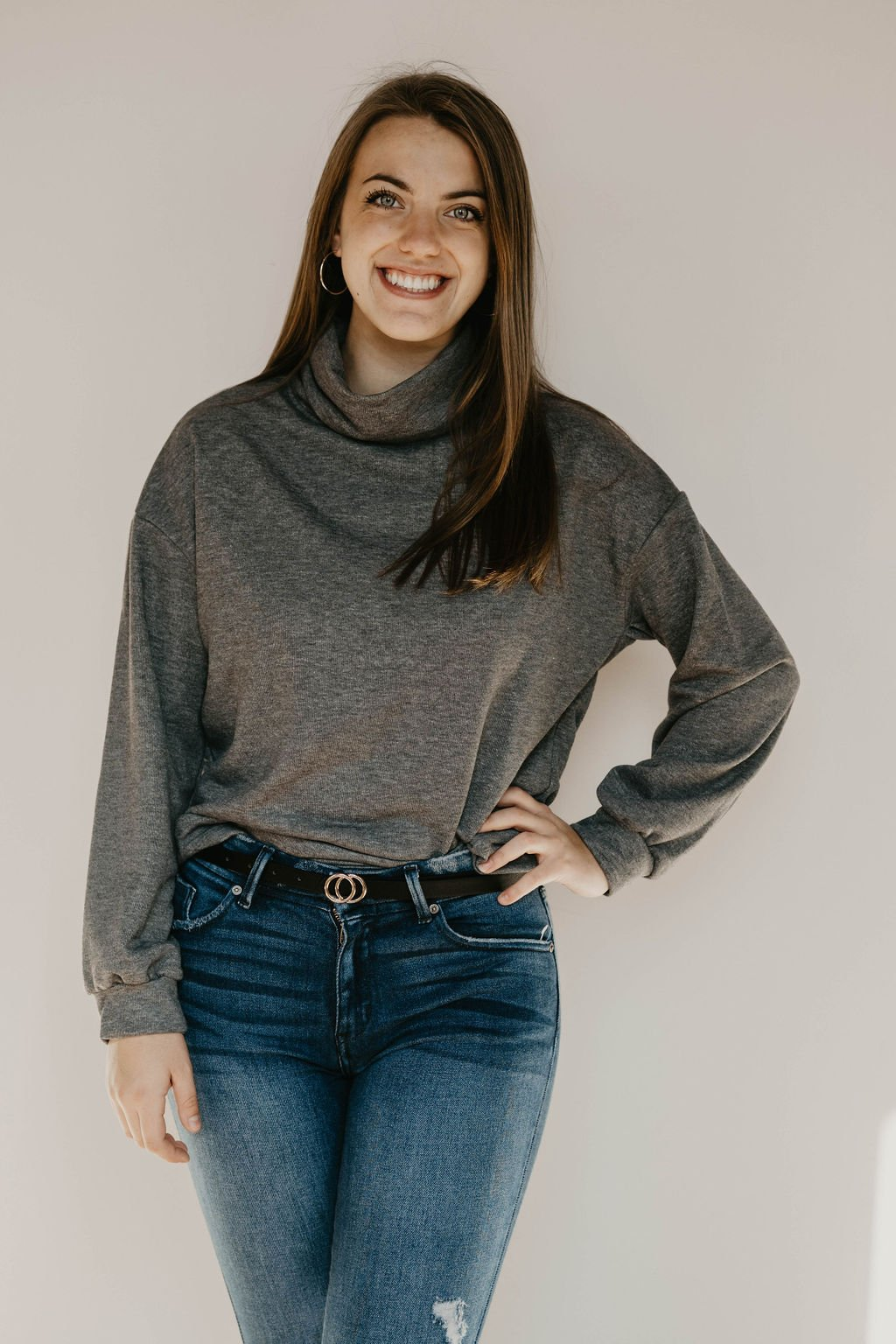 HyFve Cowl Neck Sweater