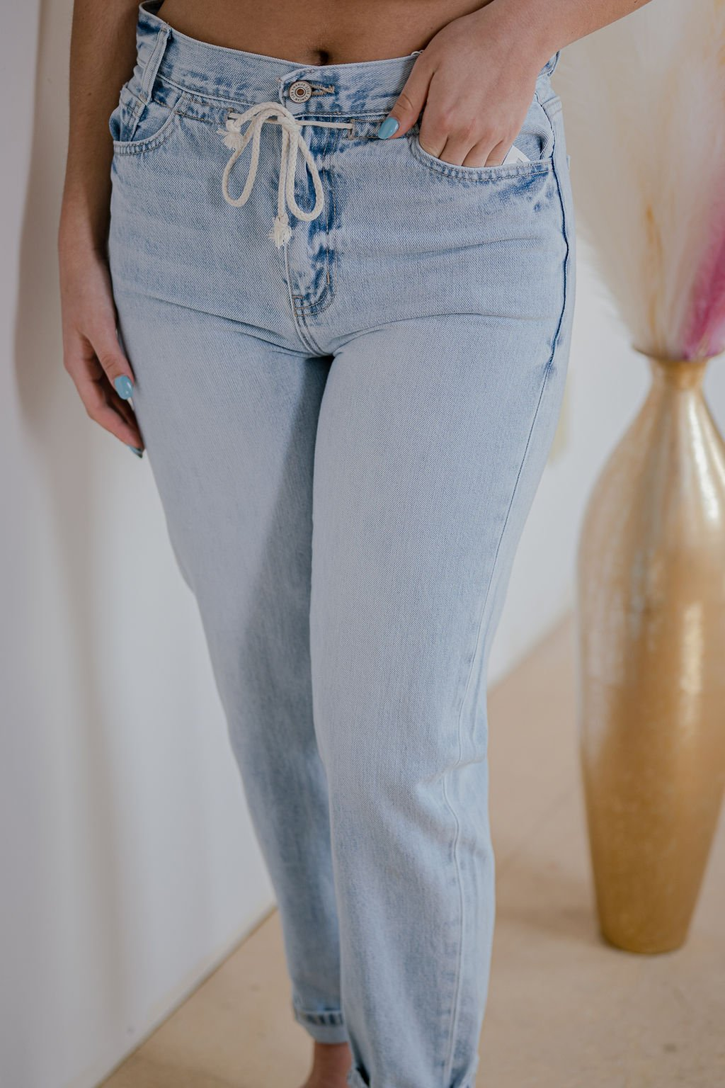 KanCan Light Slouch Fit Jean