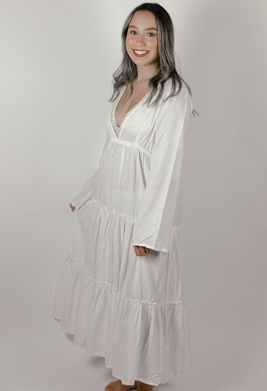 Billabong Wander Lust Ivory Dress
