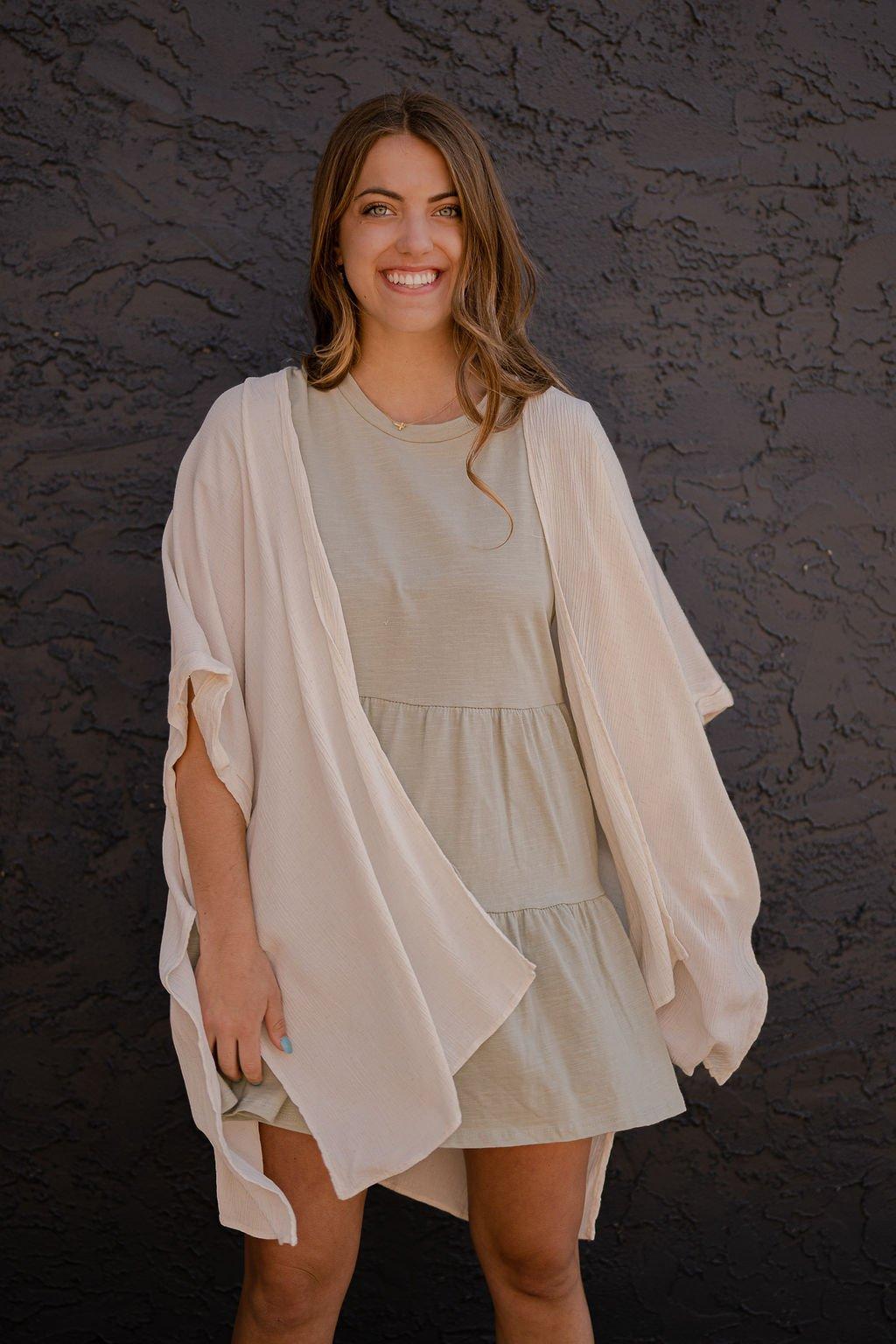 Charlotte Avery Sage Dress
