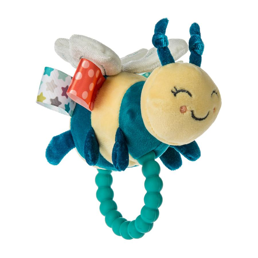 Mary Meyer Fuzzy Buzzy Bee Teether Rattle
