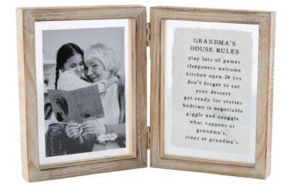 Mud Pie 4X6 Hinged Grandma Frame