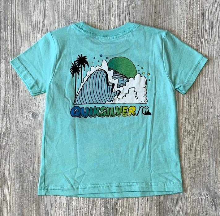 Quiksilver Blue Graphic Tee
