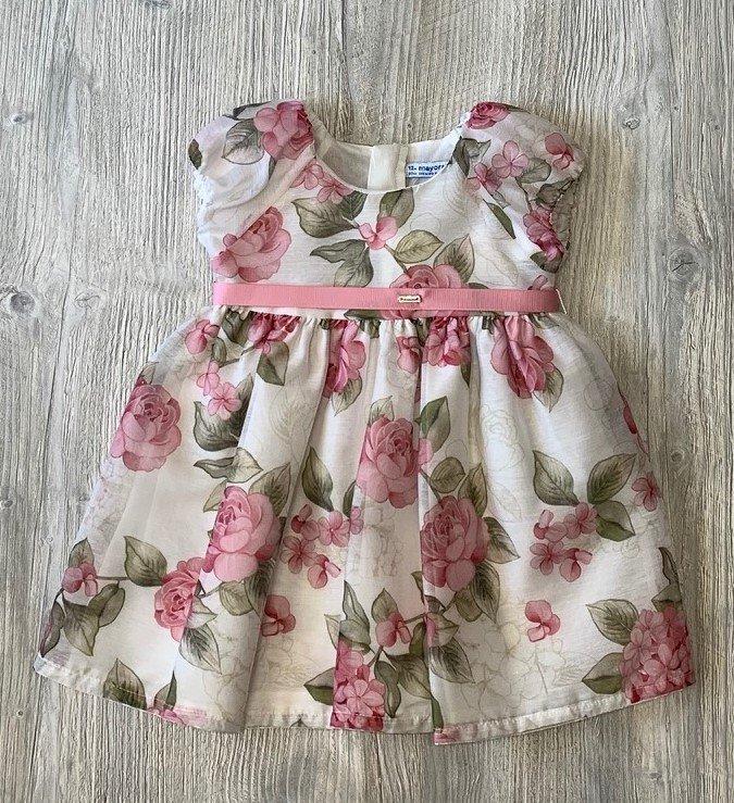 Mayoral Vintage Floral Dress