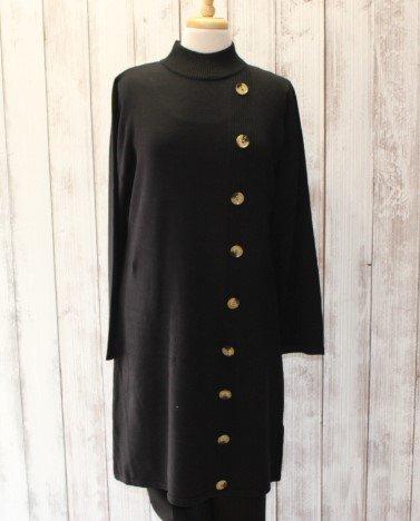 Keren Hart black sweater dress