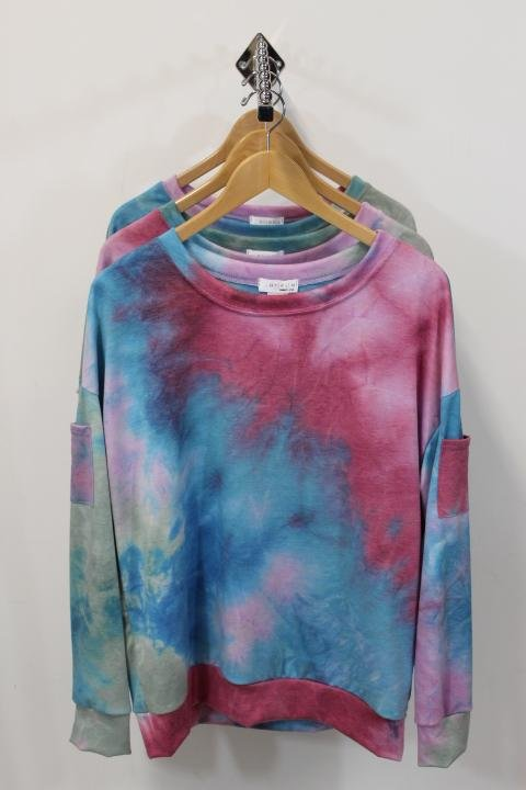 Ariella Printed Knit Top