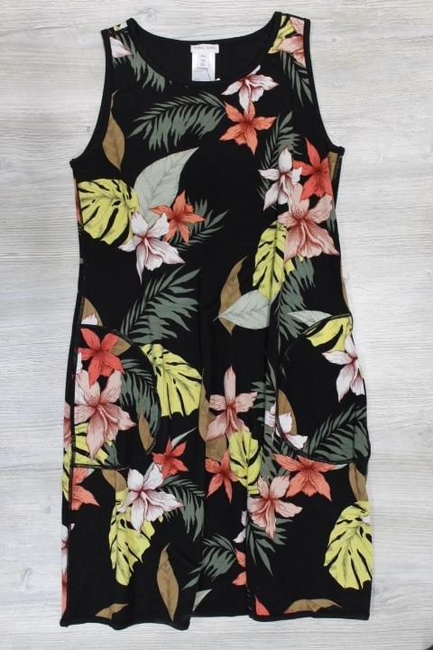 Tribal Reversible A-Line Dress